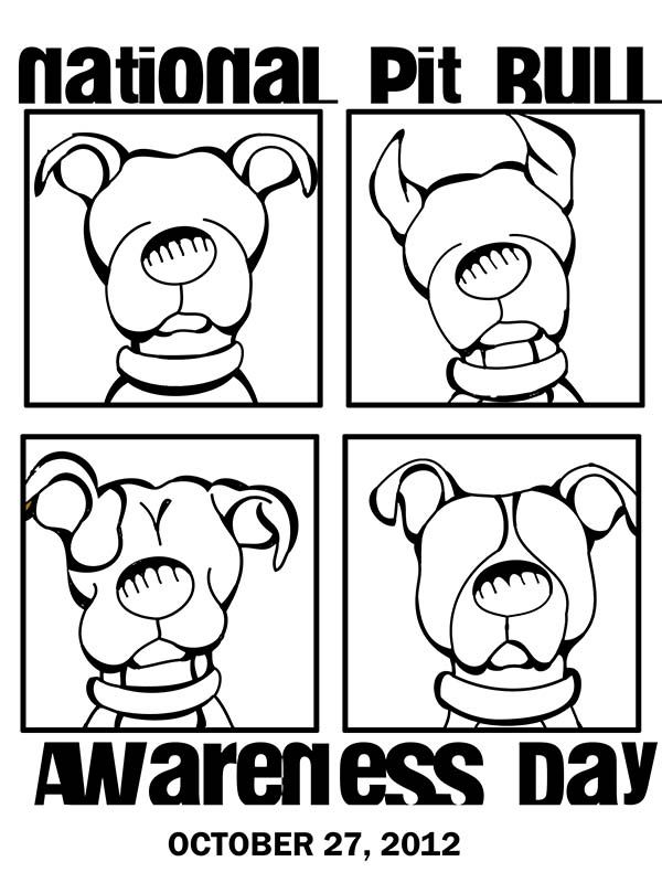 Pit Bull Awareness Day Is October 27 2012 And A Great