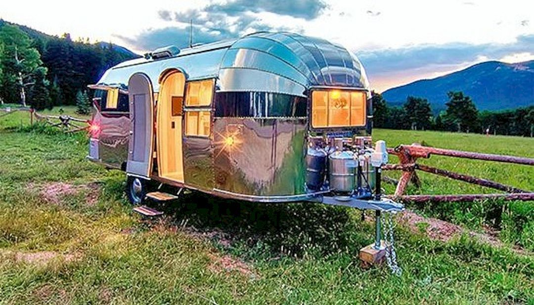 Top And Stunning Air Stream Trailer Hacks Remodel Makeover