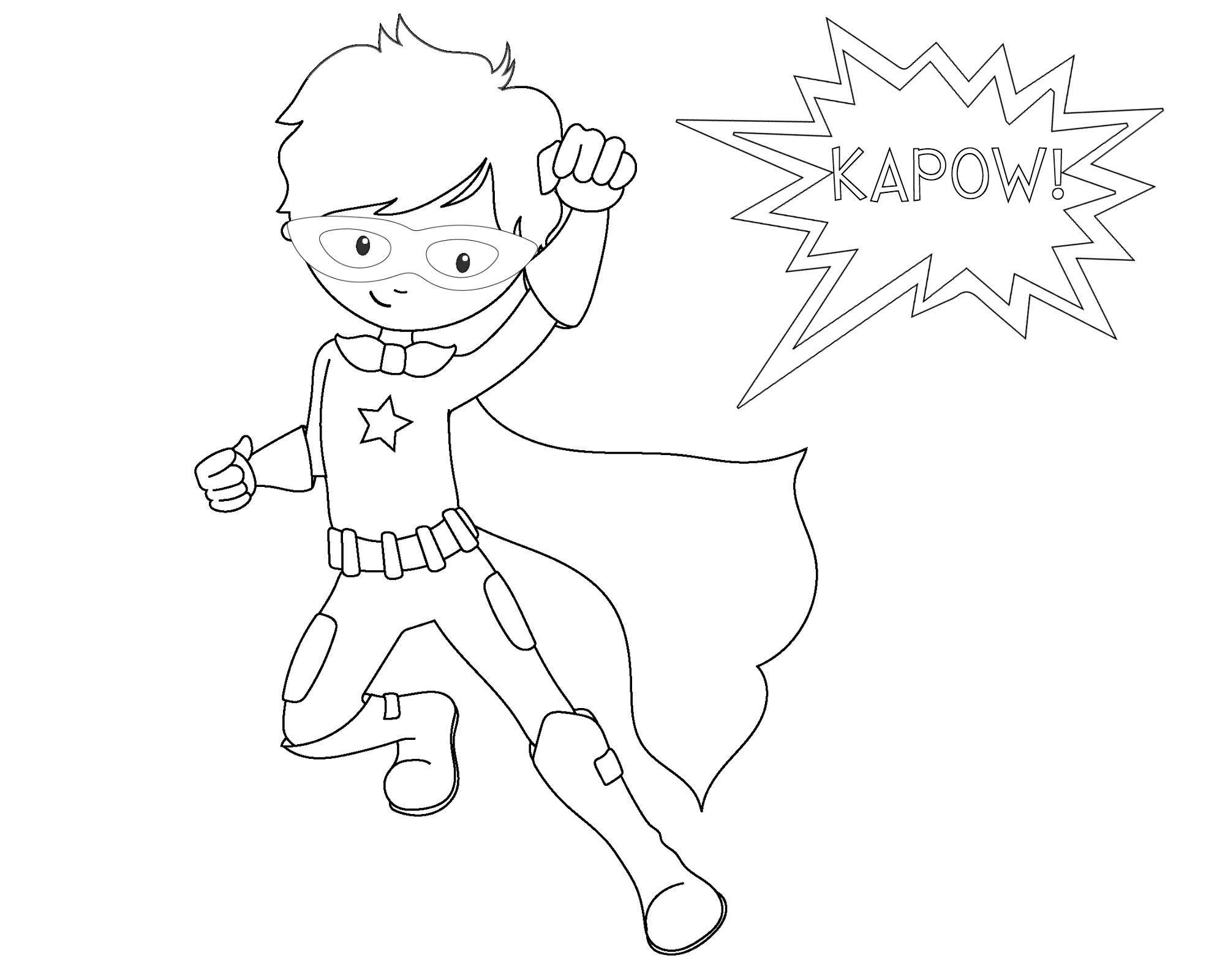 - 16 Coloring Page Superhero Super Hero Coloring Sheets, Superhero