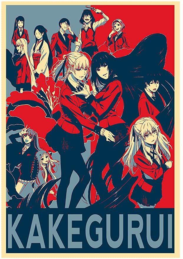 Instabuy Poster Kakegurui Propaganda Characters - Formato A3 (42x30 cm)
