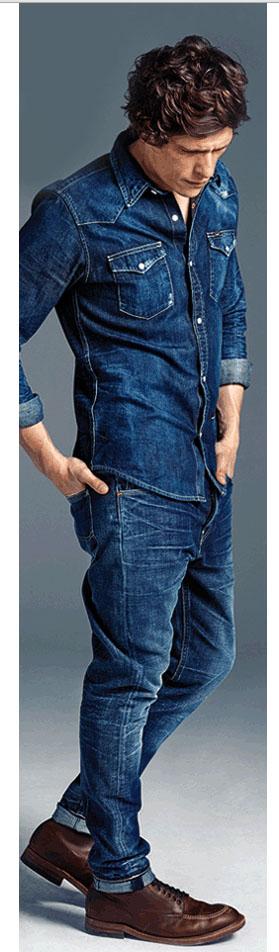 Lee jeans - total look