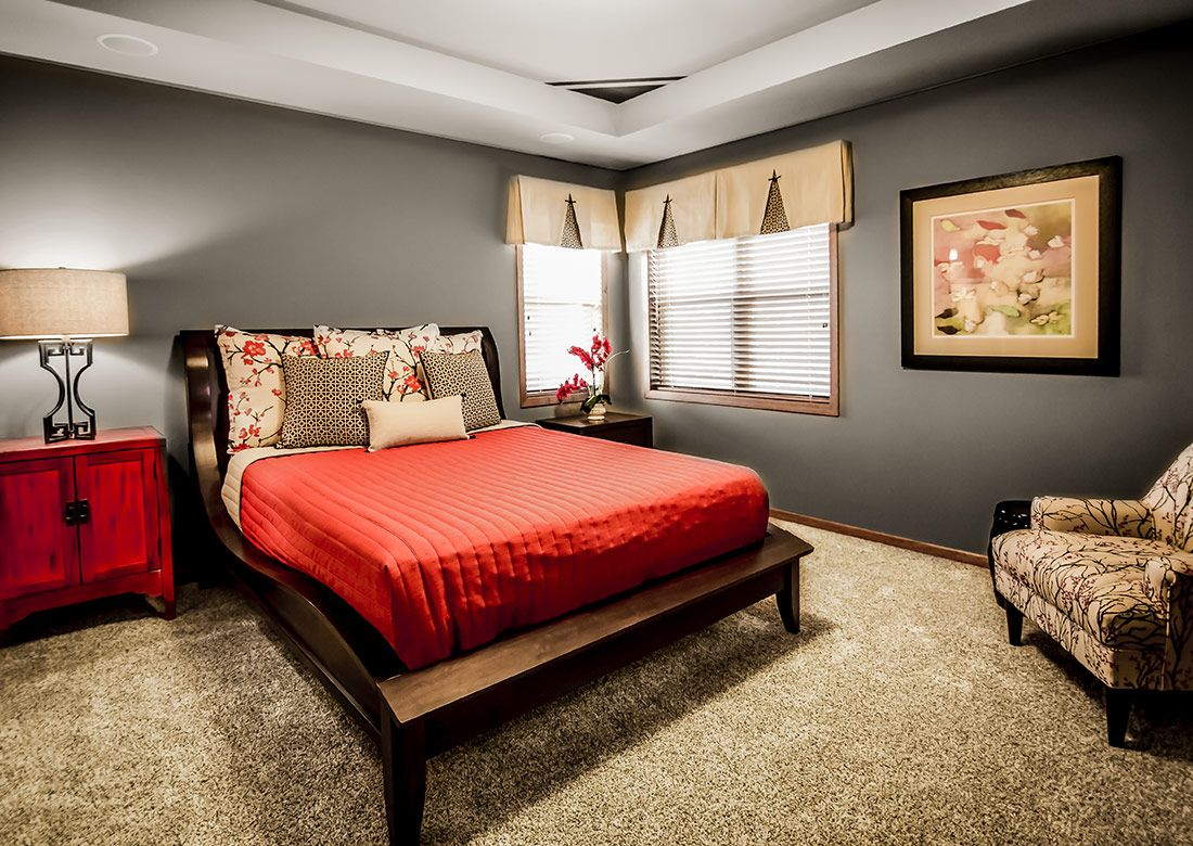 Master bedroom vs owners suite  Veridian Homes  The Hudson Meadow Crossing Furnished Model