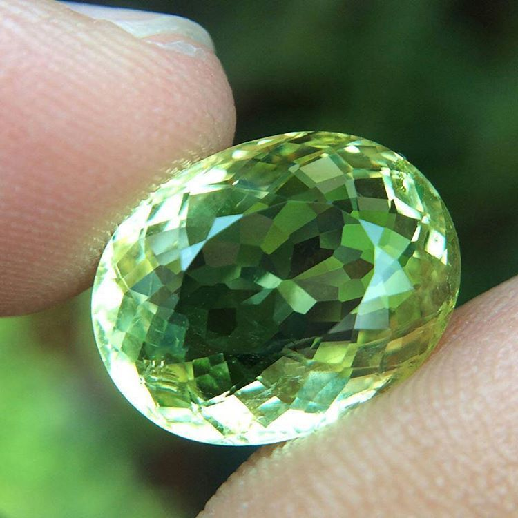 """22 Likes, 3 Comments - Suma Boutique (@sumagemboutique) on Instagram: """"5.97 Carats Certified Untreated Natural Greenish Yellow Beryl  Dimensions : 13.4x10.7x6.4 mm…"""""""