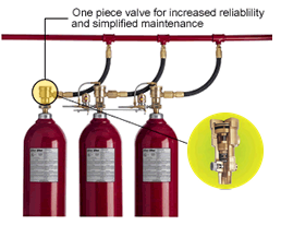 Co2 Fire Suppression System Fire Suppression Solutions Fike