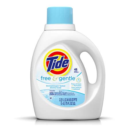 Tide Free And Gentle Liquid Laundry Detergent Tide Free And