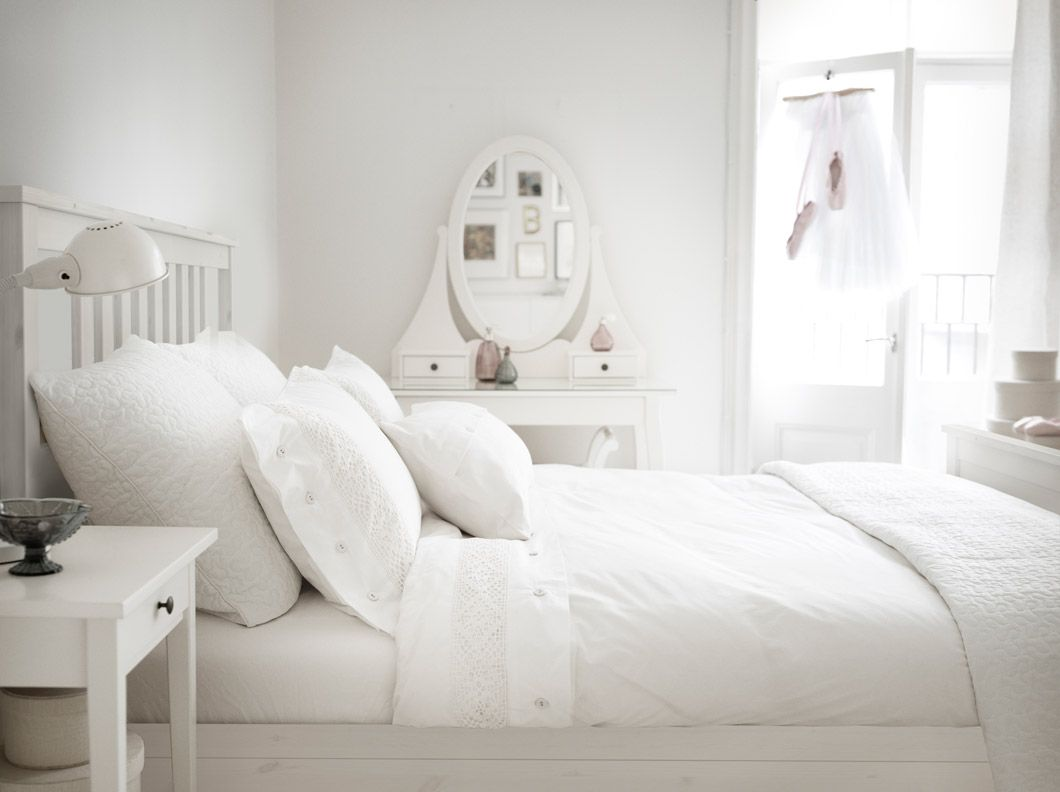 Ikea white bedroom furniture - Ikea White Bedroom Furniture Decor Ideas
