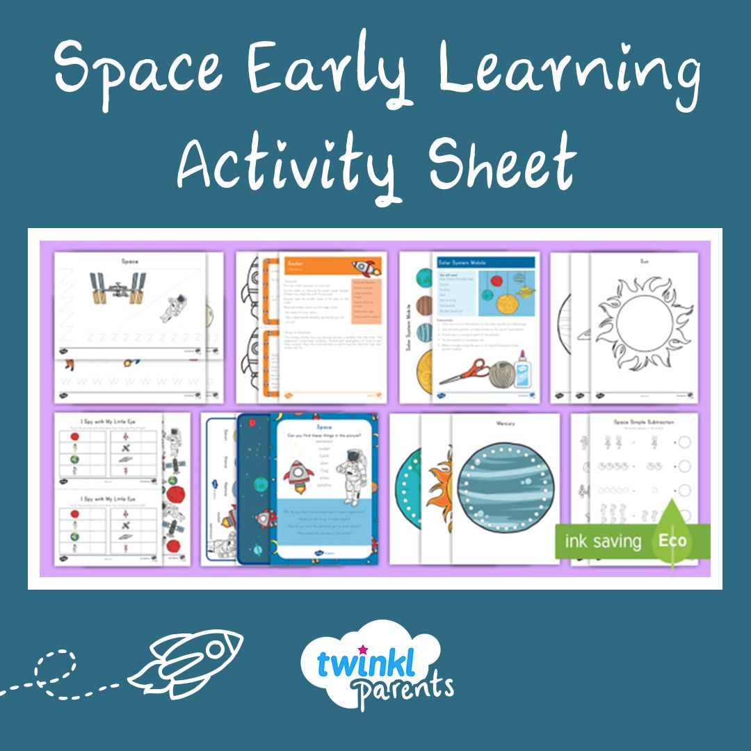 Space Early Childhood Activity Pack Early Childhood Lesson Plan Early Childhood Activities Early Childhood Quotes