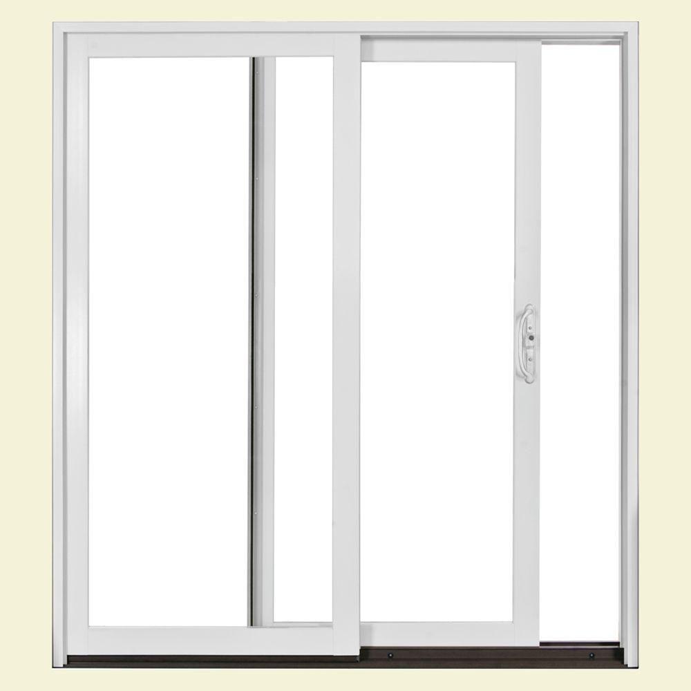 Jeld Wen 72 In X 80 In W2500 Series Right Hand Sliding Patio Door