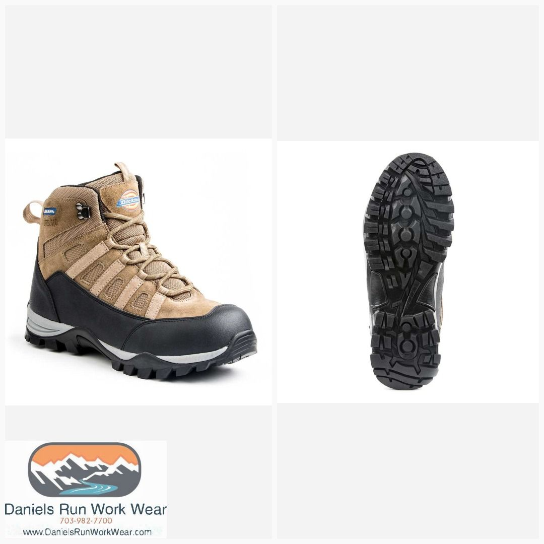 7cb4b78158a Dickies Men's Escape Steel Toe Safety Work Boots ASTM ST EH Item ...