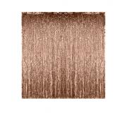 2 Pi/èces Or Rose Rideau M/étallique de Frange Frange de Feuille Rideau Shimmer Porte Fen/être pour D/écoration F/ête mariage danniversaire