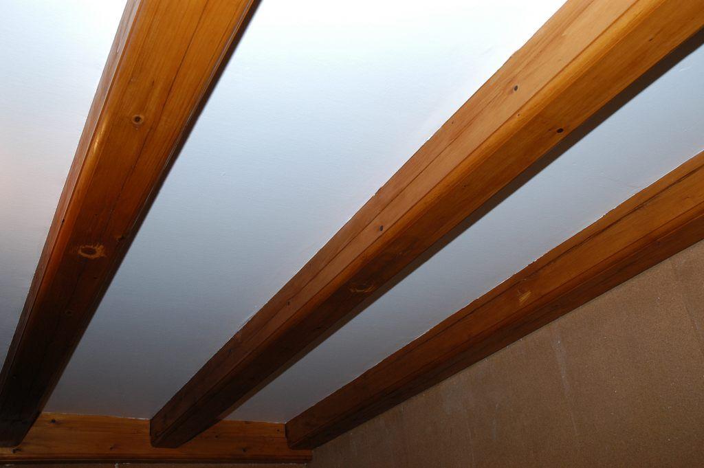 poutre plafond salle de bain Pinterest - plafond salle de bain