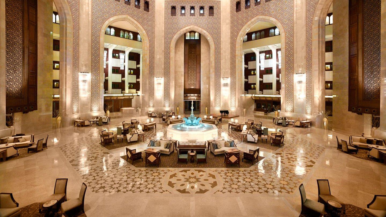 Al Bustan Palace Ritz-carlton Hotel In Muscat Oman