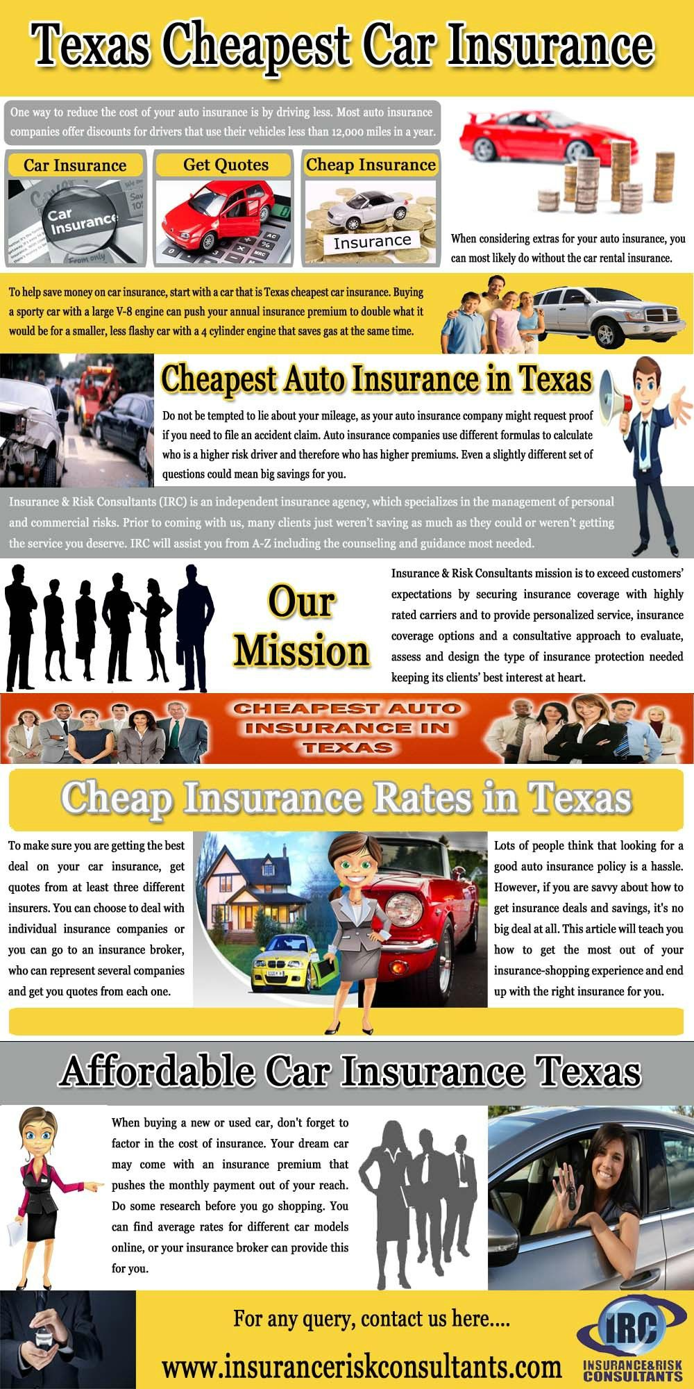 Affordable Car Insurance Texas Cheap Car Insurance Car