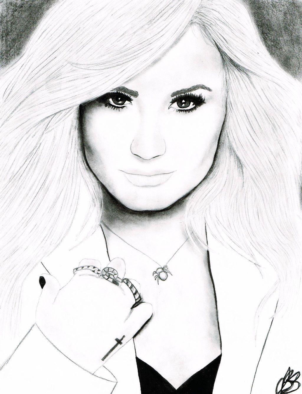 Demi Lovato Coloring Pages Demi Lovato Lovato Coloring Pages