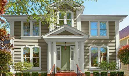Traditional heritage valspar paint ideas feathering - Valspar exterior paint color ideas ...