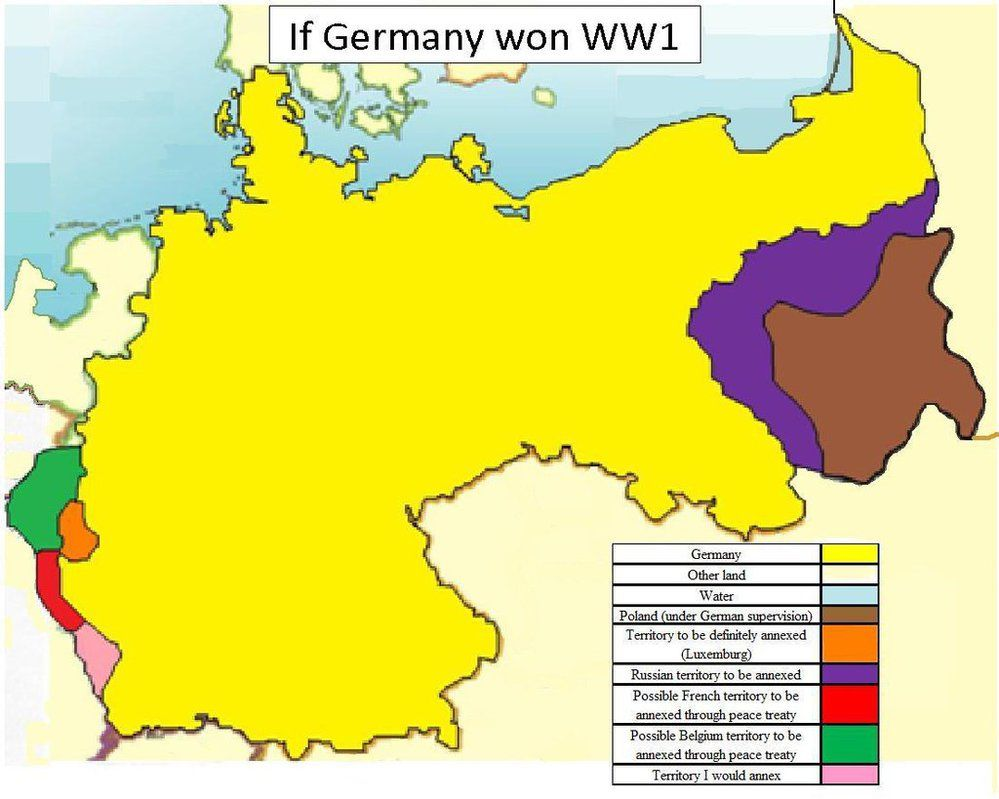 Wwi Germany Map.Here Is A Map That I Made That Is Featured In My Youtube Video A
