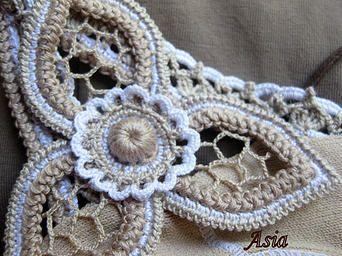 Irish crochet motif patterns