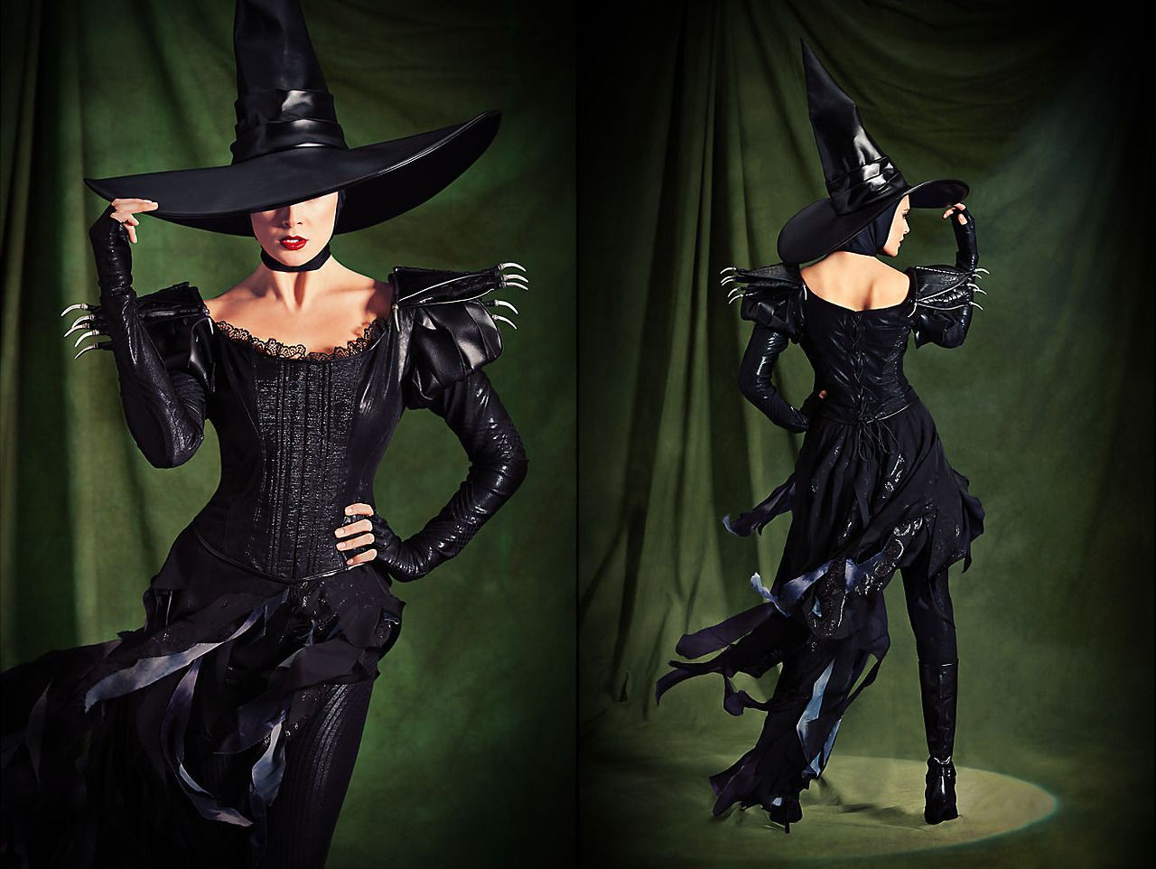 Wicked Witch of the West and Glinda the Good Witch Wizard of Oz ...