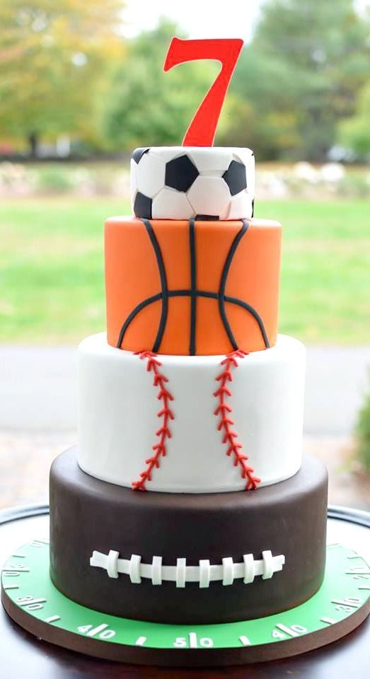 Admirable All Star Birthday Cake With Images Sports Birthday Cakes Boy Funny Birthday Cards Online Bapapcheapnameinfo