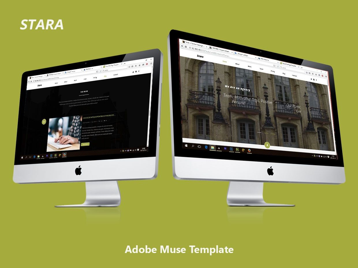 Stara adobe muse template template and adobe desktop version one page template full animated lightbox contact form previewhttp friedricerecipe Image collections