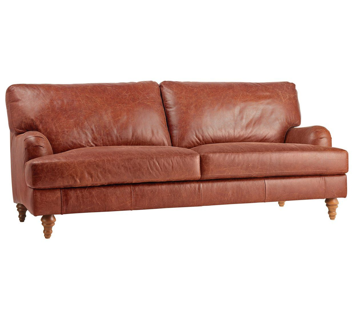 Phenomenal Buy Argos Home Livingston 3 Seater Leather Sofa Tan Download Free Architecture Designs Terstmadebymaigaardcom