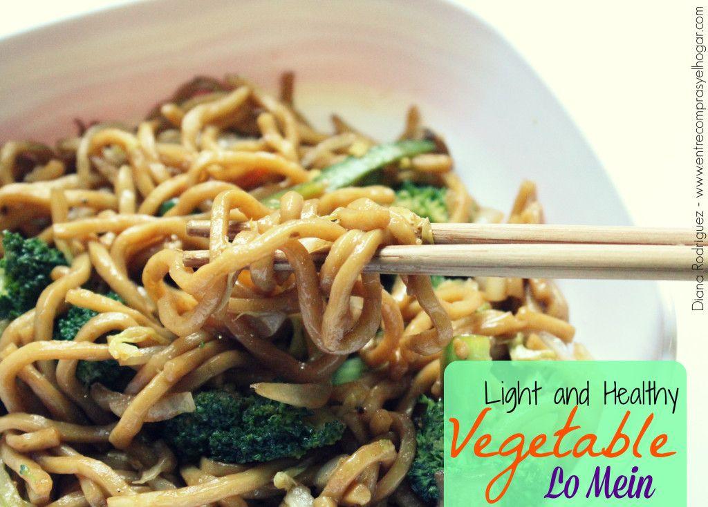 Deliciosa y saludable receta de lomein recetas econmicas light and healthy vegetable lo mein forumfinder Images