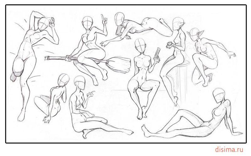 Рисунки про сексуальных девушек