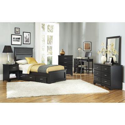 Carolina Furniture Works, Inc. Platinum Panel Customizable Bedroom Set U0026  Reviews | Wayfair