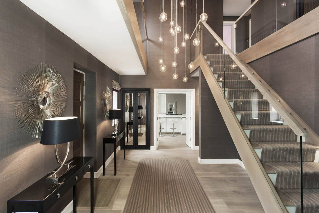 Browse Images Of Modern Corridor, Hallway U0026 Stairs Designs: Entrance Hallu2026
