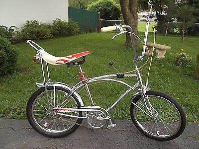 59ef763e92b 1965 Sears Spyder Vll Chrome Frame 3 Speed RARE Muscle Bike 20