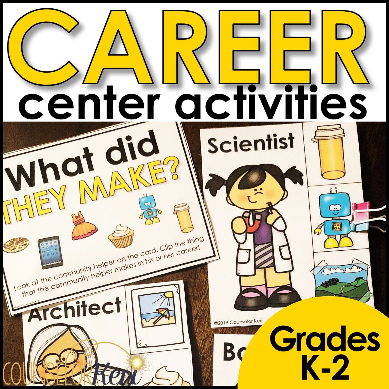 Community Helper Centers Classroom Guidance Lesson For