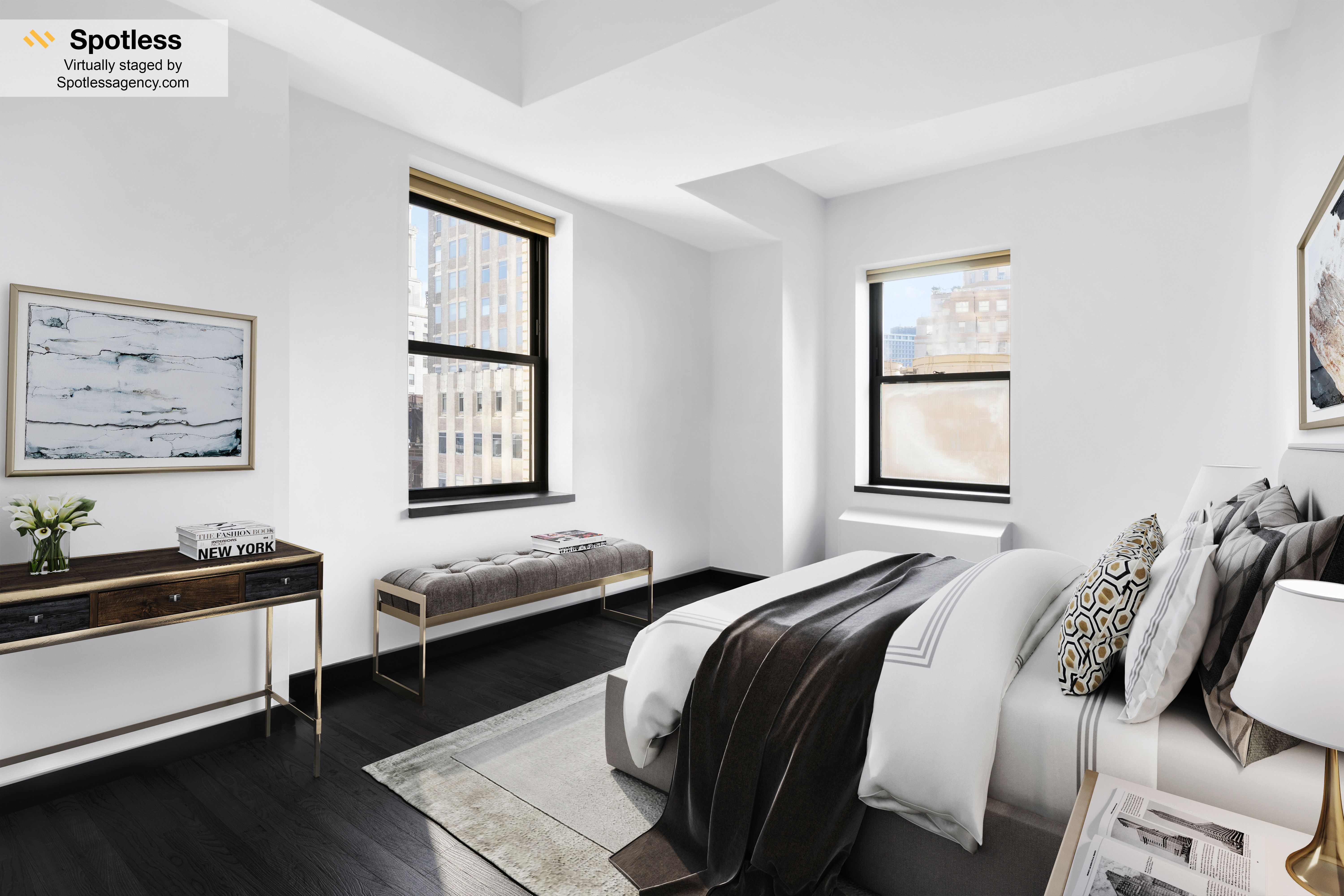 Virtual Staging Bedroom By Spotless Agency Virtualystaging