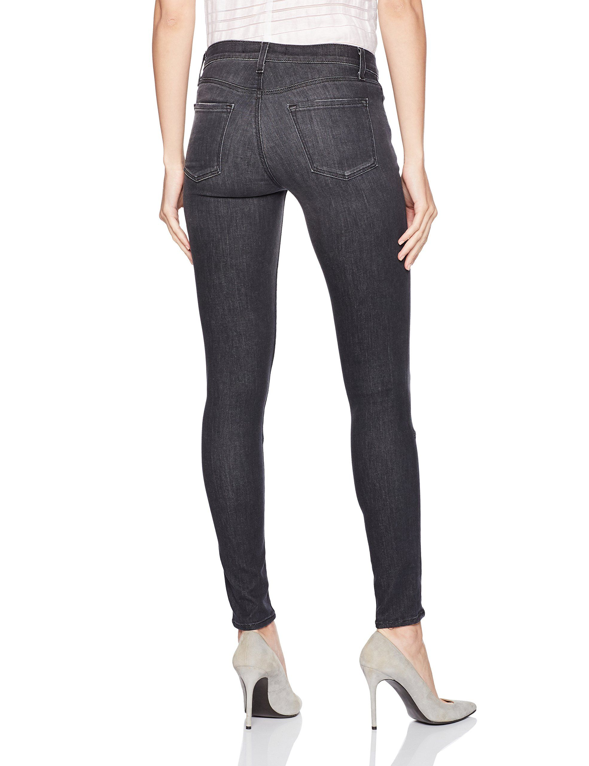 1f93bb8552d6 J Brand Jeans Womens 620 Mid Rise Super Skinny with Zip Jeans Black Heath  28 ** Click on the image for additional details.(It is Amazon affiliate  link) # ...