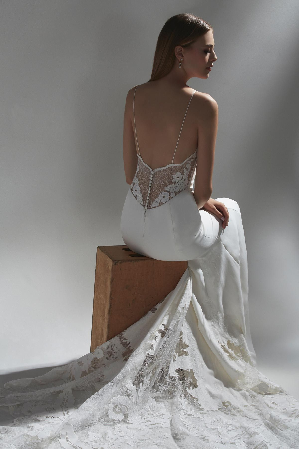 Indra By Watters 2019 Watters Collection The Sun Was Shining On The Sea Collection Casual Wedding Dress Strappy Wedding Dress Casual Beach Wedding Dress