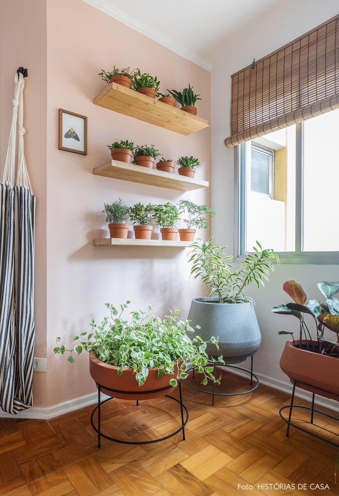 Antes E Depois Sala Nova Com A Leroy Merlin Decoracao Com Plantas Planta De Decoracao Interior Salas Coloridas