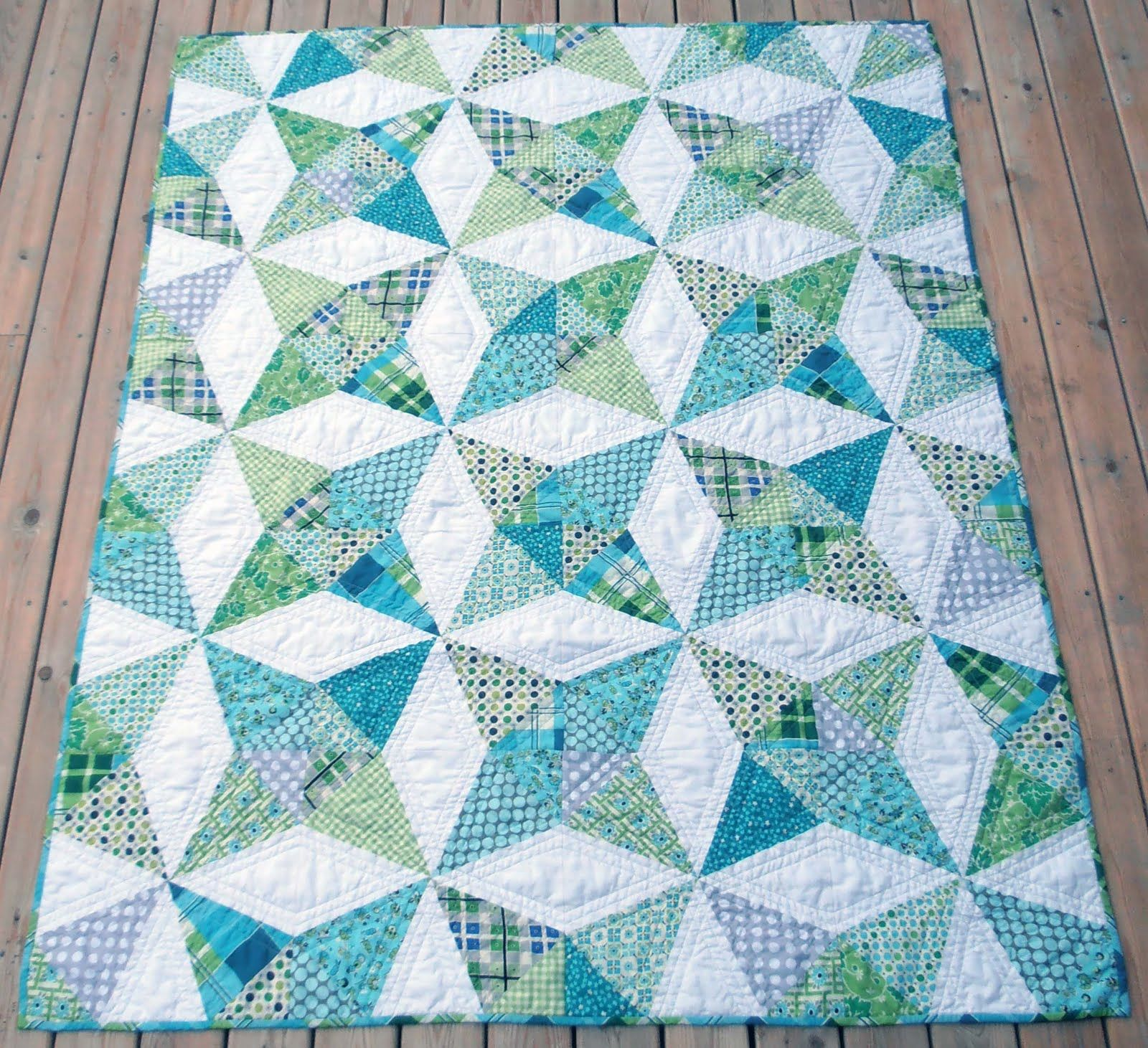 A Quilter's Table: Kaleidoscope