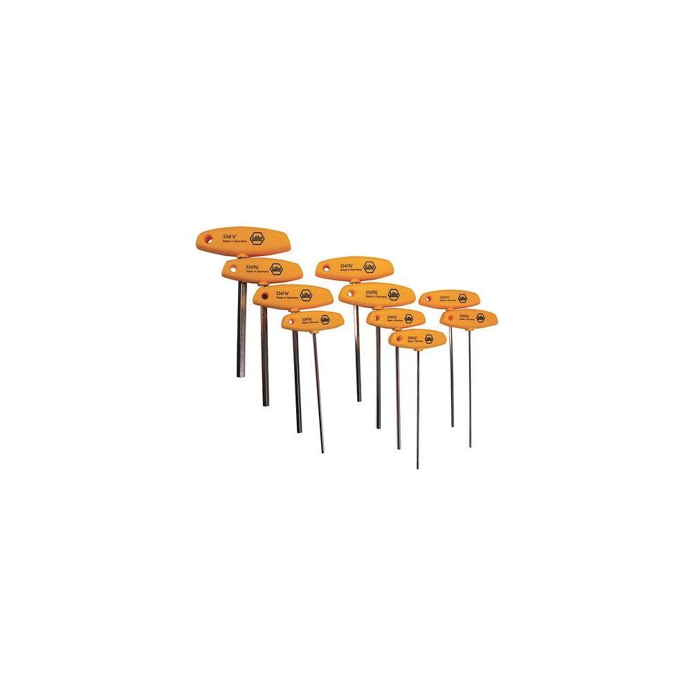 Wiha Tools 33492 10 Pc Sae Comfort Grip T Handle Hex Key Set Hex Key Hex 10 Things