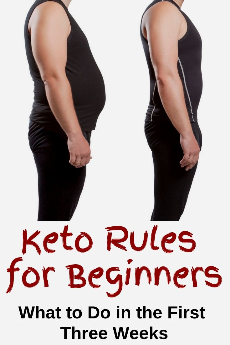Keto Rules for Beginners: The First Three Weeks ...