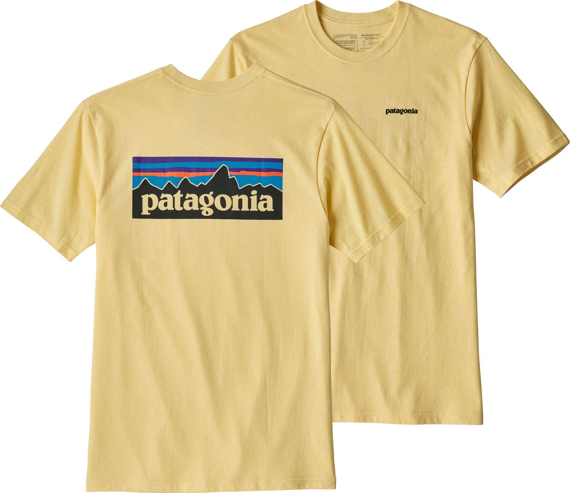 743854d838a8 Patagonia Men s P-6 Logo Responsibili-Tee T-Shirt in 2019