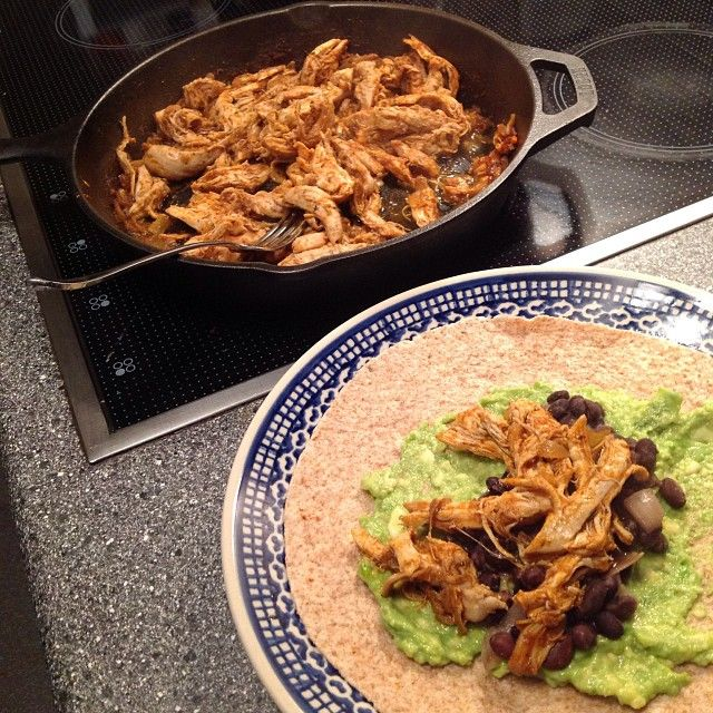 Top 10 Mexican Dinner Recipes: Crazy Easy Stovetop Shredded Mexican Chicken Tacos