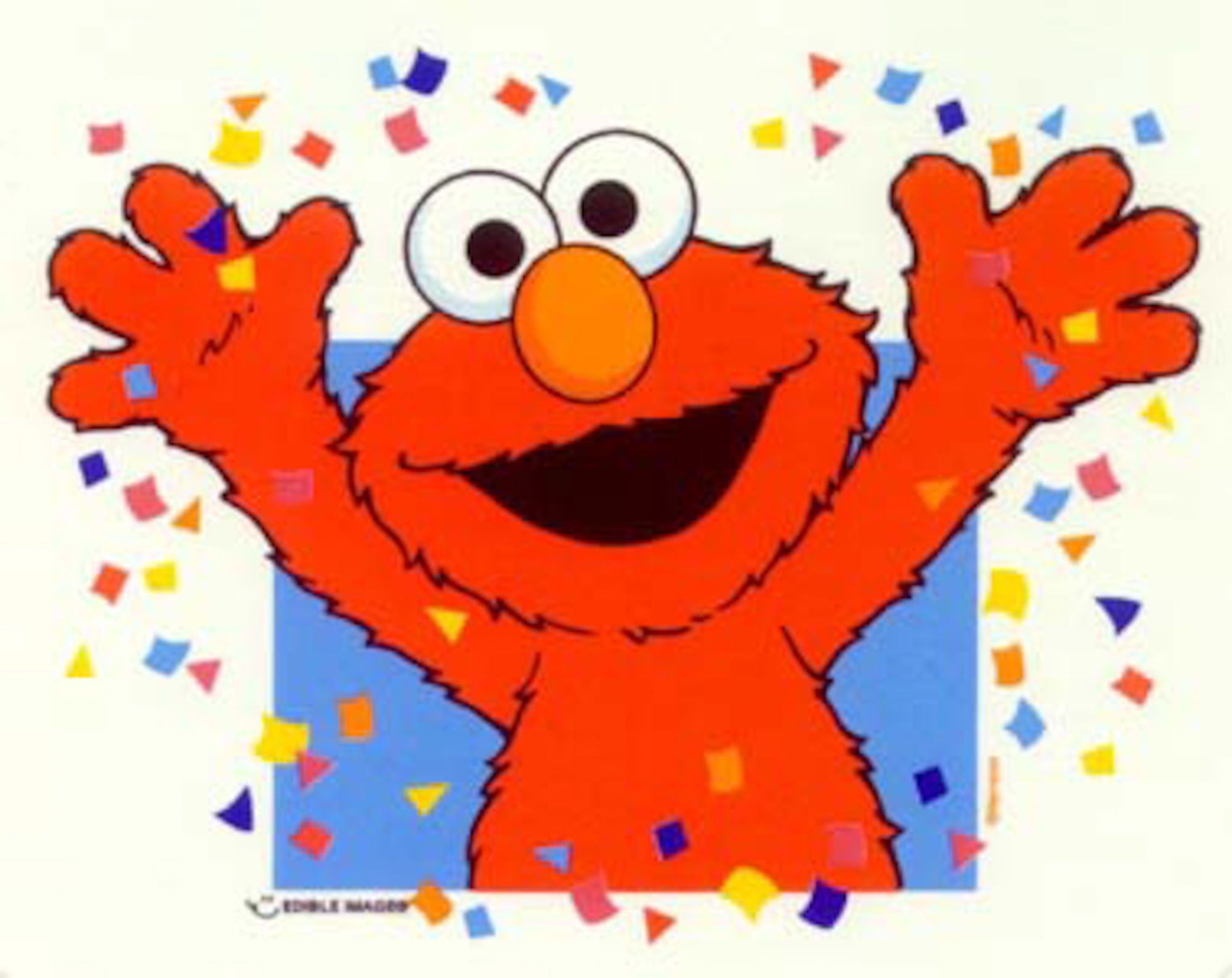 Free Elmo Party Printables – Elmo Birthday Card