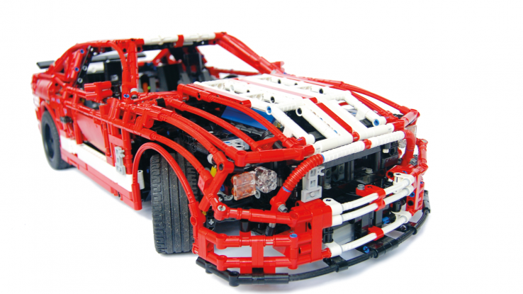 Lego Technic Shelby Mustang GT500 LEGO cars, trucks