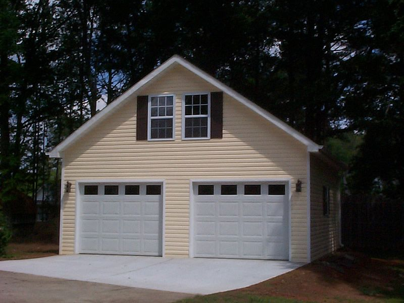 Has some information on some for Prefabricated detached garage