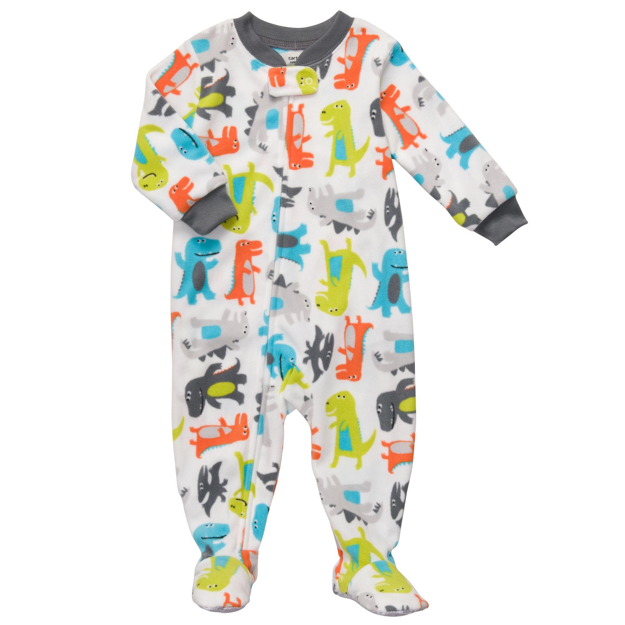 1-Piece Microfleece Pjs | Baby Boy Pajamas | Baby 3.0 | Pinterest ...