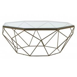 Gardette Coffee Table Oversized Coffee Table Brass Coffee Table