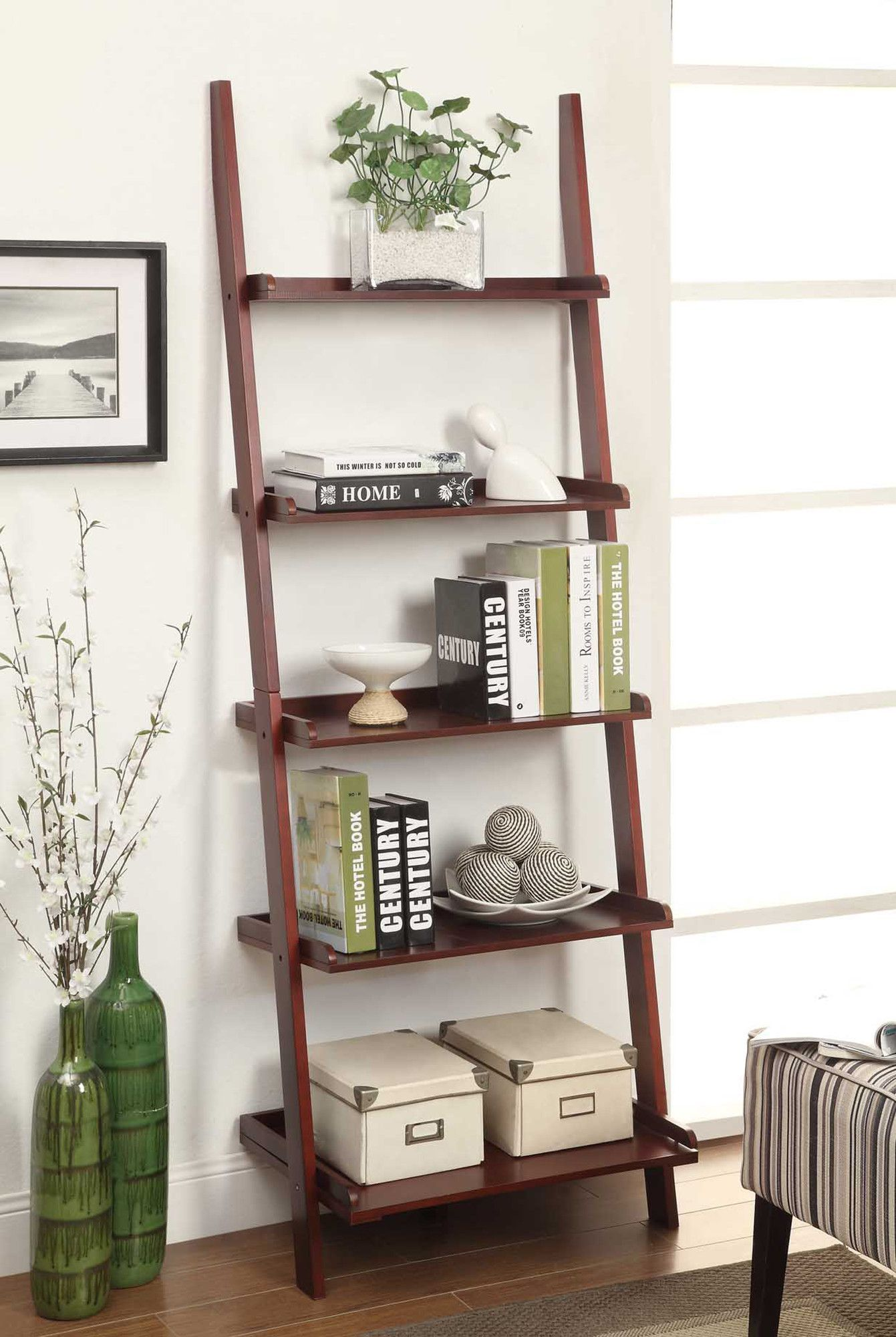 Sandstrom 72 Ladder Bookcase Ladder Bookshelf Bookshelf Decor Home Decor
