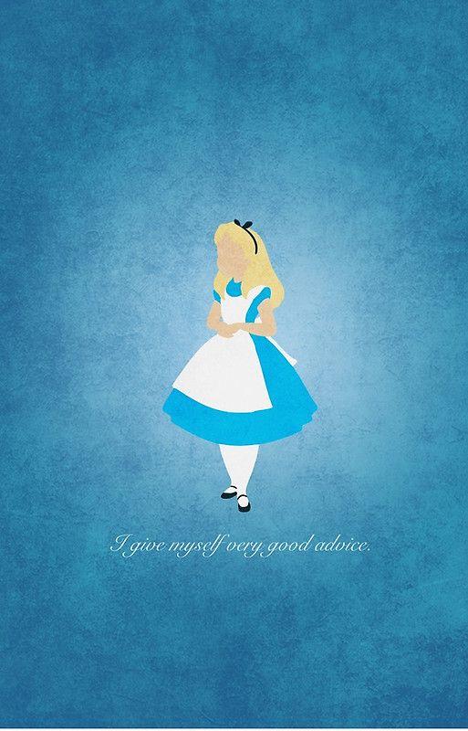 Alice In Wonderland Iphone Disney Redbubble Disney Disney