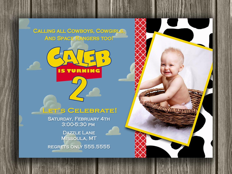 Toy Story Inspired Birthday Invitation  FREE by DazzleExpressions, $13.00