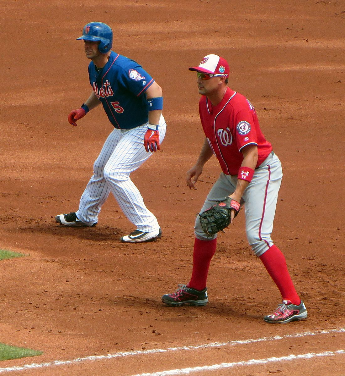 Mets David Wright and Nationals Ryan Zimmerman- March 30th, 2016