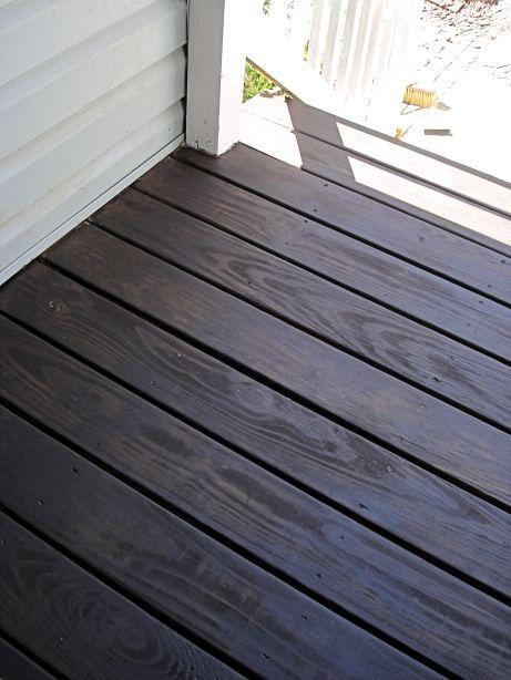 Behr S Cordovan Brown In Solid Stain Outdoors Front Exterior Pinterest Porch Flooring